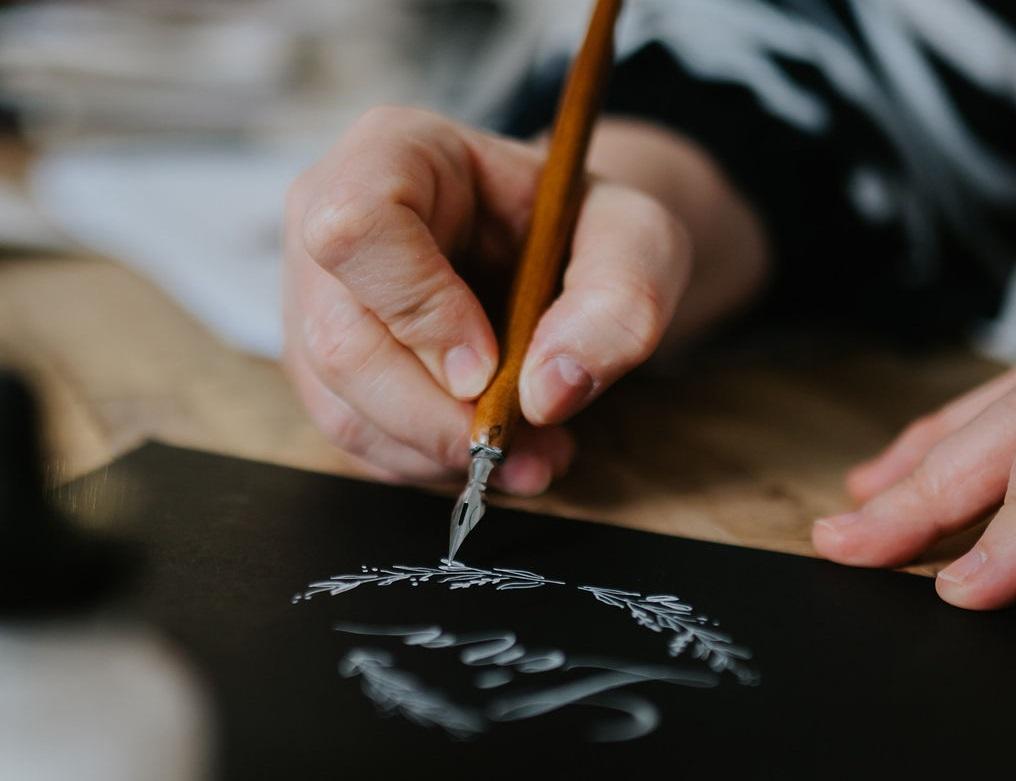 kalligráfia mártogatós
