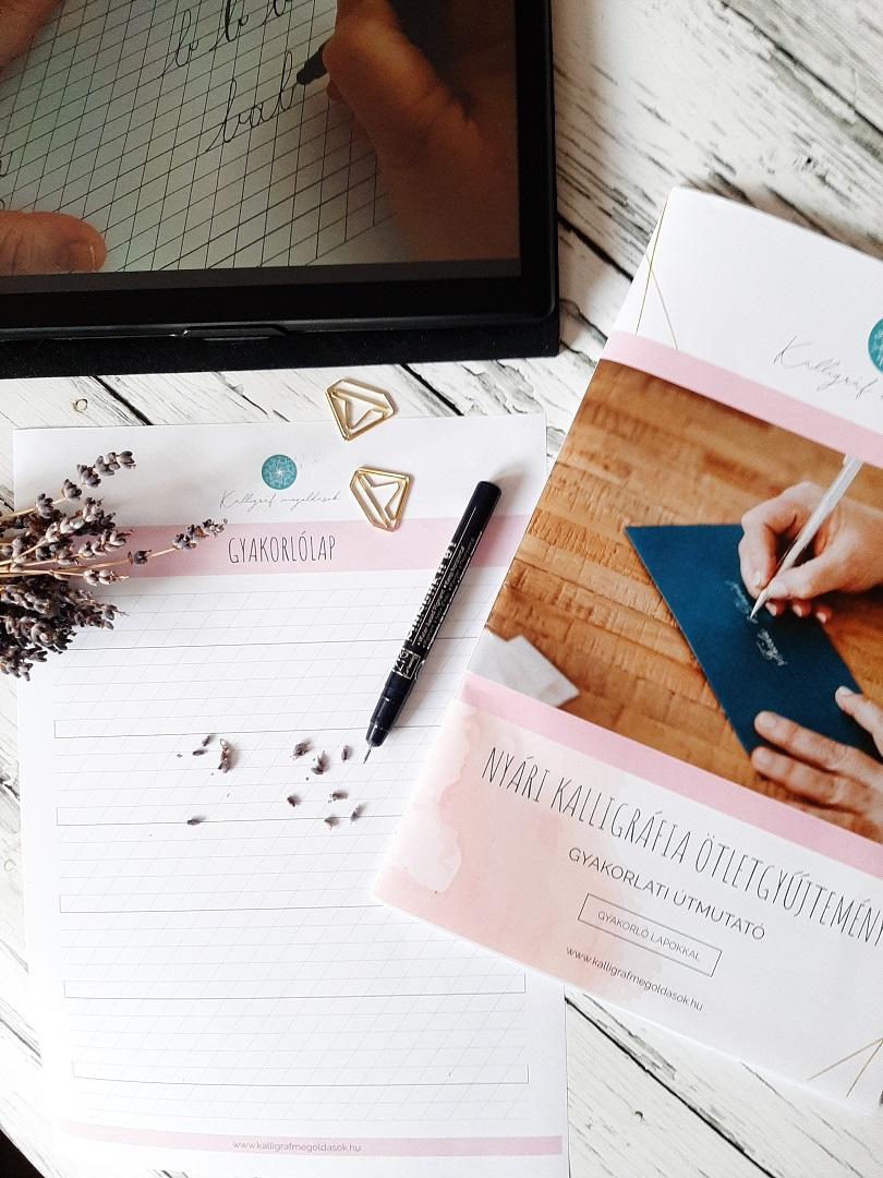 e-book online kalligráfia
