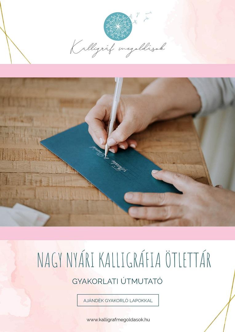 kalligráfia e-book